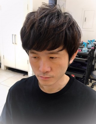 山田さんNEWヘアー