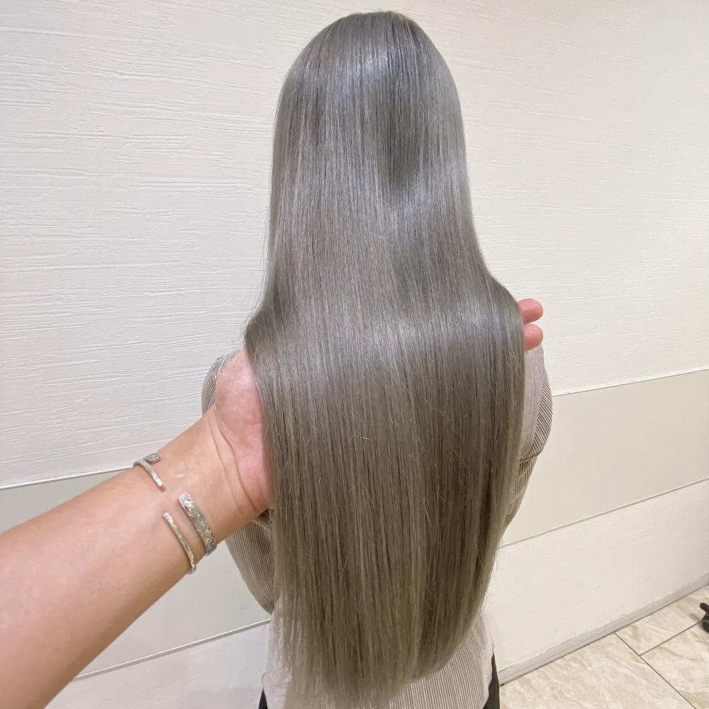 オーダー殺到★髪質改善カラー