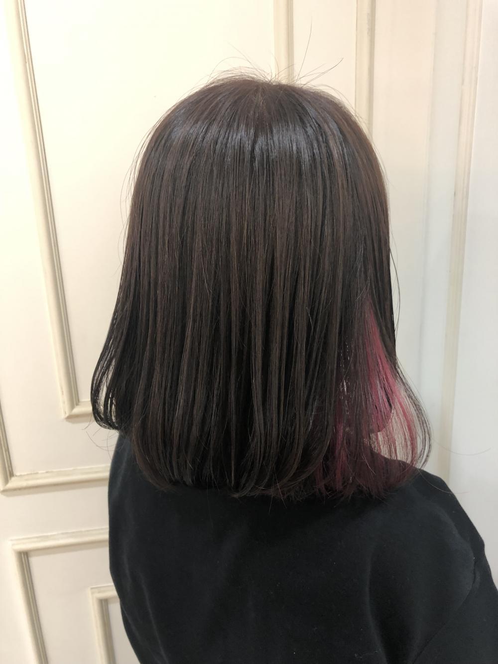 yuuka☆イヤリングカラー ピンク