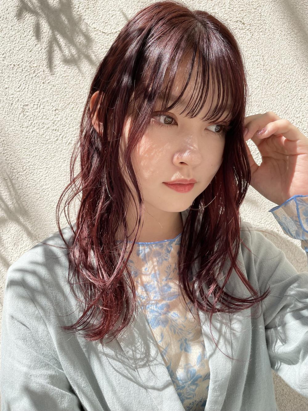 【hitomi】ヴィンテージレッドカラー