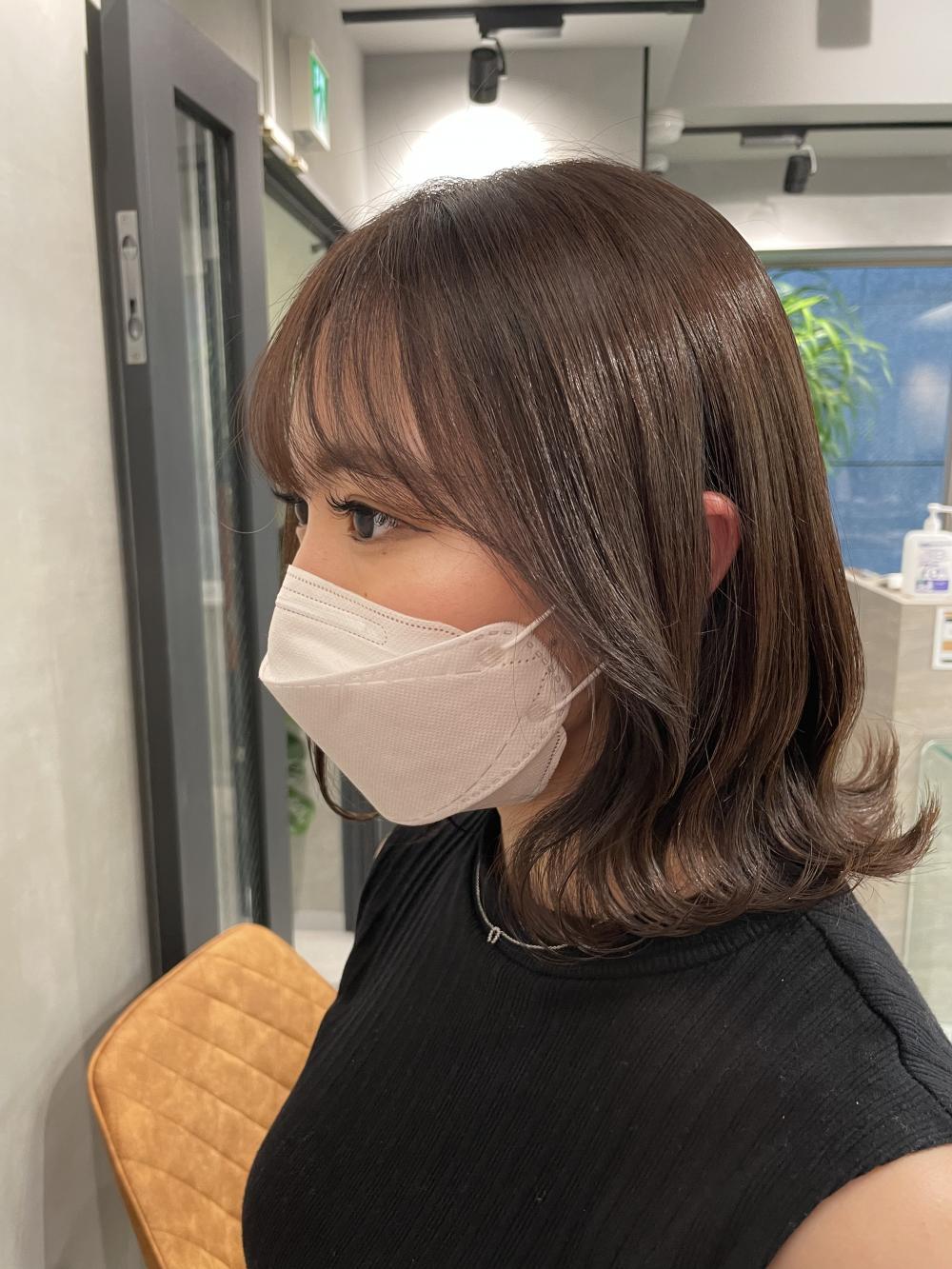 *韓国風くびれスタイル 秘密のハイライト モカベージュ